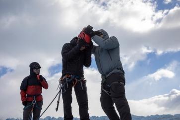 Checking 360-degree camera